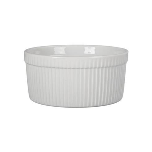 OmniWare   1.75 QT White Souffle Dish $11.95