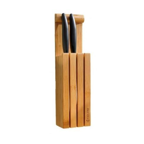 $32.95 3-Slot Bamboo Knife Block