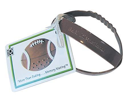 "$1.99 3.5"" Brown Football Cookie Cutter"