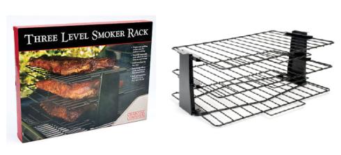 Charcoal Companion   THREE LEVEL SMOKER RACK $33.95