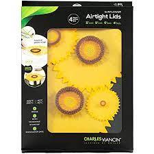 $42.95 4 PC Sunflower Airtight Lids