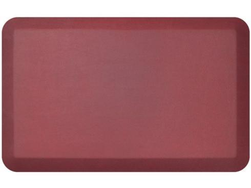 $54.95 Cranberry Leather Grain Mat