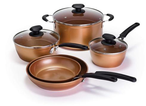 $199.00 Endure Titanium 8 Pc. Non-Stick Cookware Set