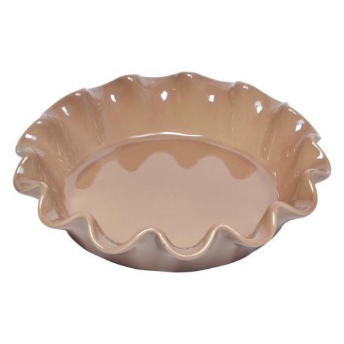 $45.00 Oak Ruffled Pie Dish