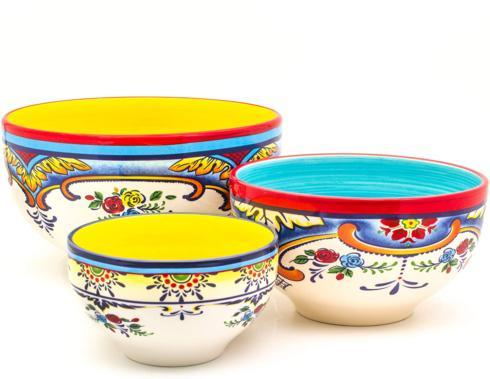 Euro Ceramica   3 Pc. Bowl Set - Sale 25% Off $89.00