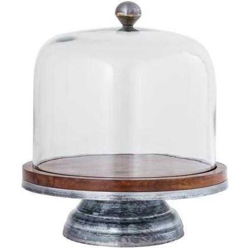 $106.99 Glass Dome Cake Stand