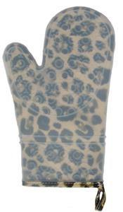 Two Lumps of Sugar   Leopard Silicone Oven Mitt $18.99