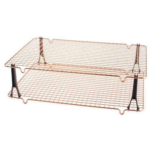 Nordic Ware   Copper Stackable Cooking Racks $35.00