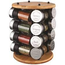 Olde Thompson   16 Jar Wood Carousel $68.95