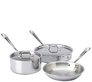 $489.00 Stainless Steel 5pc. Specialty Starter Set
