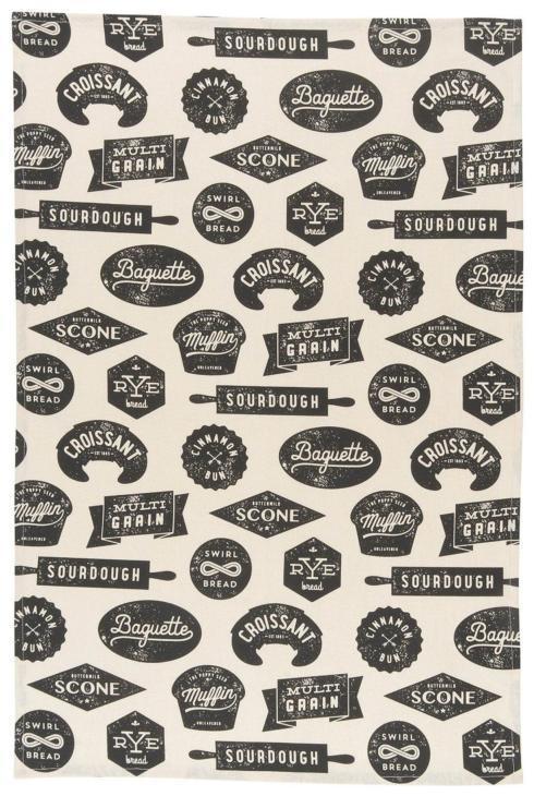 Now Designs   Bakeshop Tea Towel $8.95