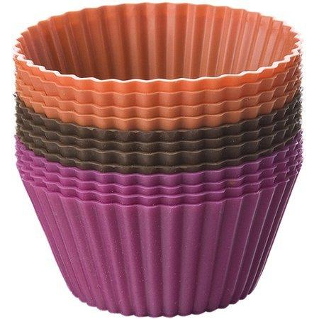 Chicago Metallic   Set of 12 Silicone Baking Cups $9.75