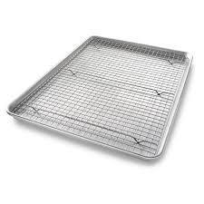 $34.99 BAKING PAN AND RACK 17X12