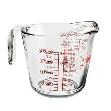 $21.95 4 c. Glass Measuring Cup
