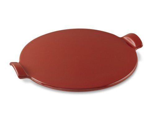 Emile Henry   Burgundy 14in Round Pizza Dish $69.00