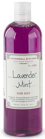 Stonewall Kitchen   Lavender Mint Dish Soap $11.95