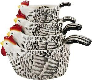 Home Essentials   Rooster Measuring Cups $27.95