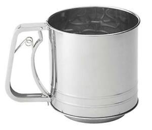 Harold Import Co   5 Cup Squeeze Flour Sifter $14.99