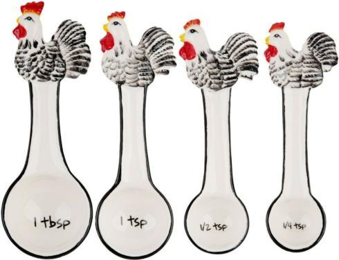 Home Essentials   Rooster Measuring Spoons $16.99