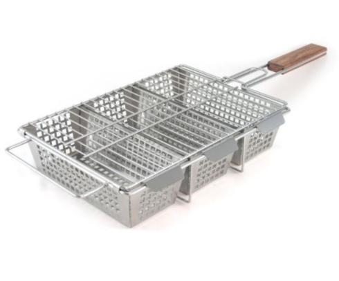 $44.95 3 Compartment Grilling Basket