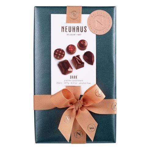 $39.00 All Dark Belgian Chocolate Ballotin 1/2 lb, 20 pcs