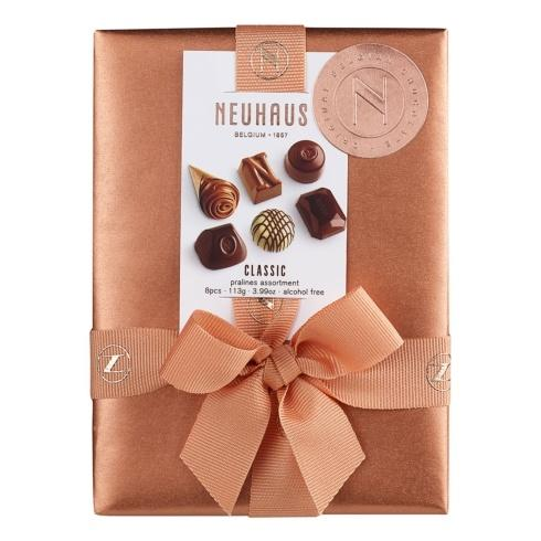 $19.00 Belgian Chocolate Ballotin 1/4 lb, 8 pcs
