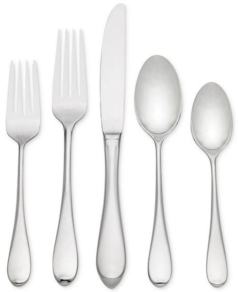 Lawren*s Exclusives  Stainless Flatware Gorham Studio 5pc place setting $39.95