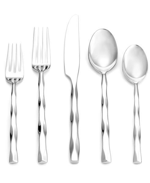 Lawren*s Exclusives  Stainless Flatware Yamazaki - Cable 5 Piece Place Setting  $59.99
