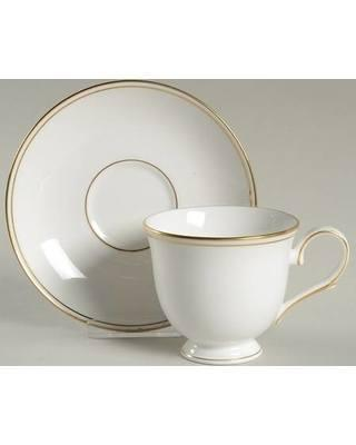 Lenox   Federal Gold Cup and Saucer $39.95