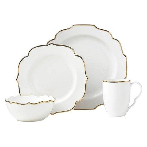$99.95 4 piece place setting - Contempo Luxe