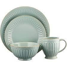 Lenox   French Perle Groove - Ice Blue 4 piece place setting $69.95
