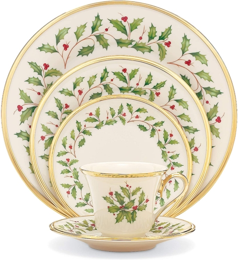 $129.95 5 piece place setting - Holiday by Lenox