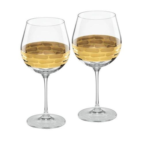 $85.00 Red Wine set of 2 - Truro Gold