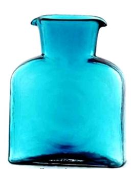 Blenko Glass Co   Water Carafe Seabreeze $53.00
