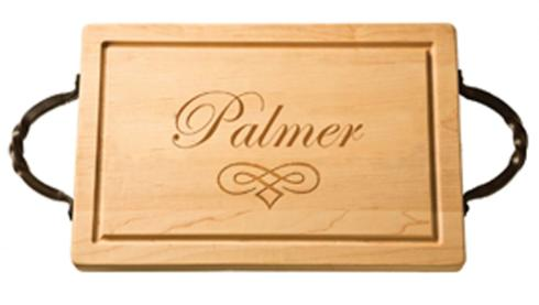 "$161.00 18"" Rectangular Cutting Board with Handles - Palmer"