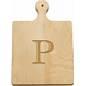 "$26.00 Artisan 9"" Cutting Board Letter P"