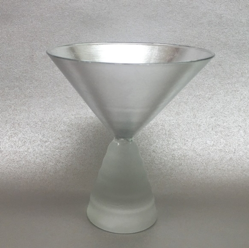 $48.00 Tamara Childs Martini Glass in Solid Silver