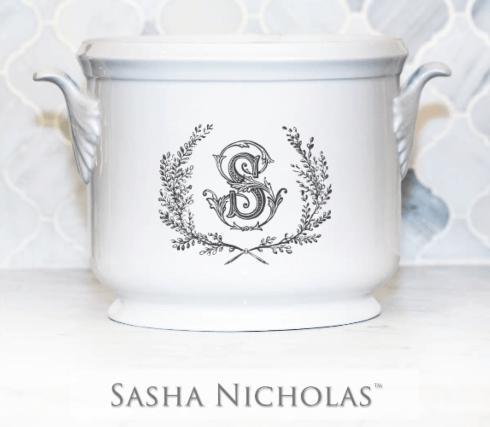 "$185.00 Champagne Bucket~Black ""S"""
