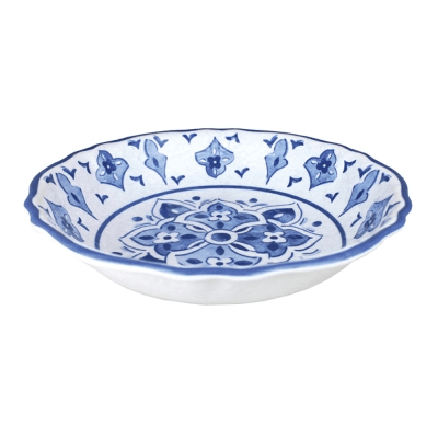 Le Cadeaux  Moroccan Blue Salad Serving Bowl $36.00