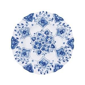 Le Cadeaux  Moroccan Blue Salad Plate  $15.00