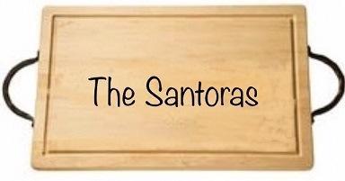 "$165.00 18"" Rectangular Cutting Board with Handles-Santora"