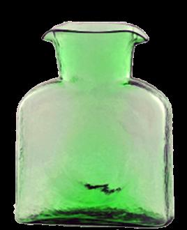 $53.00 Water Carafe Spring Green