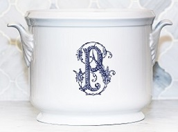 Sasha Nicholas  Couture Monogram~Bridal Registry Champagne Bucket- Williams~Patel Registry $185.00