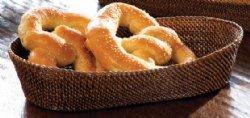 """$42.00 Woven Bread Basket 14"""""""