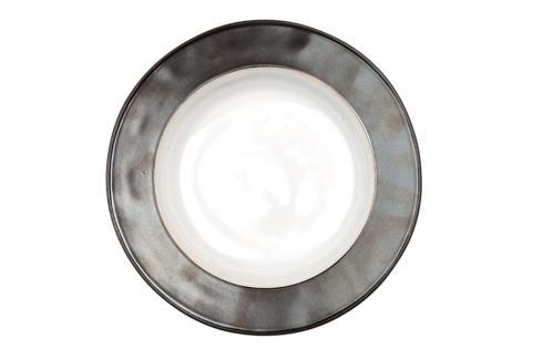 Juliska  Pewter Stoneware Emerson White/Pewter Pasta/Soup Bowl $46.00