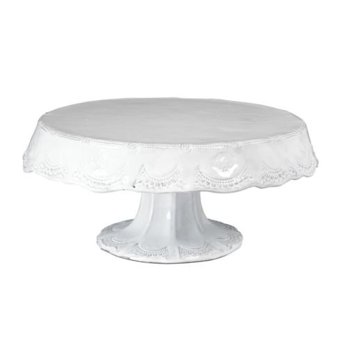 Incanto White Lace Medium Cake Stand
