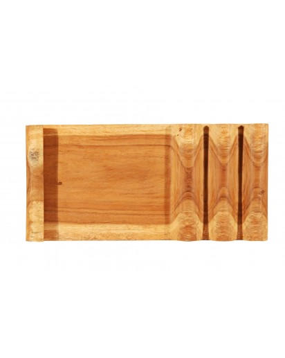 Montes Doggett   Montes Doggett Waffle Carved Tray $86.00