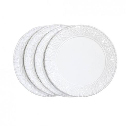 Louis Morgan Exclusives   Skyros Historia Paper White Salad Plate $32.00