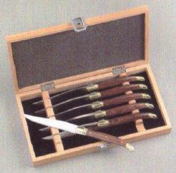 Arceau   Brazilian Rosewood Steak Knives set/6 $135.00