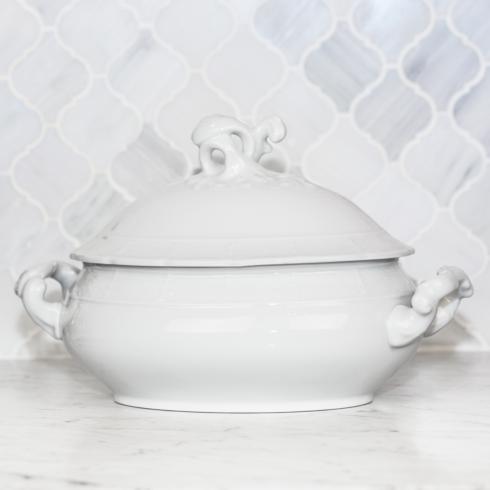 Sasha Nicholas Weave Simply White Weave Simply White Covered Tureen $176.00